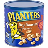 Planters Dry Roasted Peanuts, 52 oz Canister (Pack of 2)