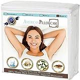 American Pillowcase Pillow Protector - 4 Sizes (Standard, Queen, King, Body) (Body, White)