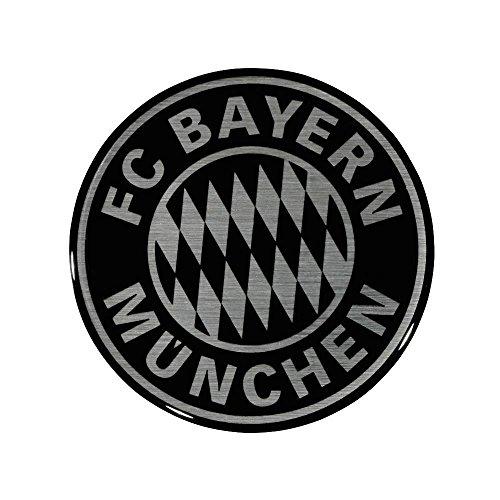 FC Bayern München 3D Aufkleber Logo schwarz kompatibel + Sticker München Forever/etiqueta engomada/Sticker/autocollant 3D Sticker, Autoaufkleber FCB