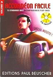 Partition : Accordeon facile volume 5 special musette + CD