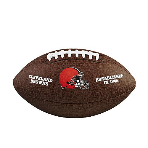 WILSON NFL Team Logo Composite Fußball, Cleveland Browns, Official
