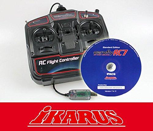 aerofly RC7 Standard DVD mit USB-Commander