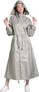 WZHZJ New Women Lightweight Breathable Raincoat Fashion Waterproof Lengthen Rain Coat Adults Outdoor Windproof Men Jacket ...