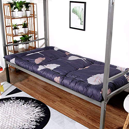 YDYL-LI Student Dormitory Foldable Mattress,Thick Japanese Futon Mattress,Folding Tatami Floor Mat Easy To Clean Rolls-up Double Single Bed Mattress Topper K 180x200cm(71x79inch)