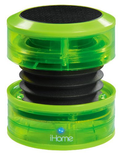 iHome IM60QN Rechargeable Mini Speaker - Green
