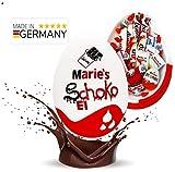 Schokofreunde Geschenke | Kinderschokolade Geschenke Box | Spaßgeschenk zum Geburtstag | personalisierte Schokoladenbox | riesen Überraschungsei | MADE IN GERMANY