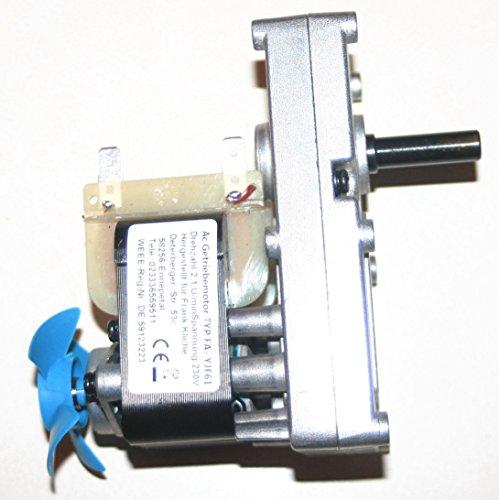 FK Grillmotor 230V- Getriebemotor 2,1 U/min bis 100 Kg Grillgut.