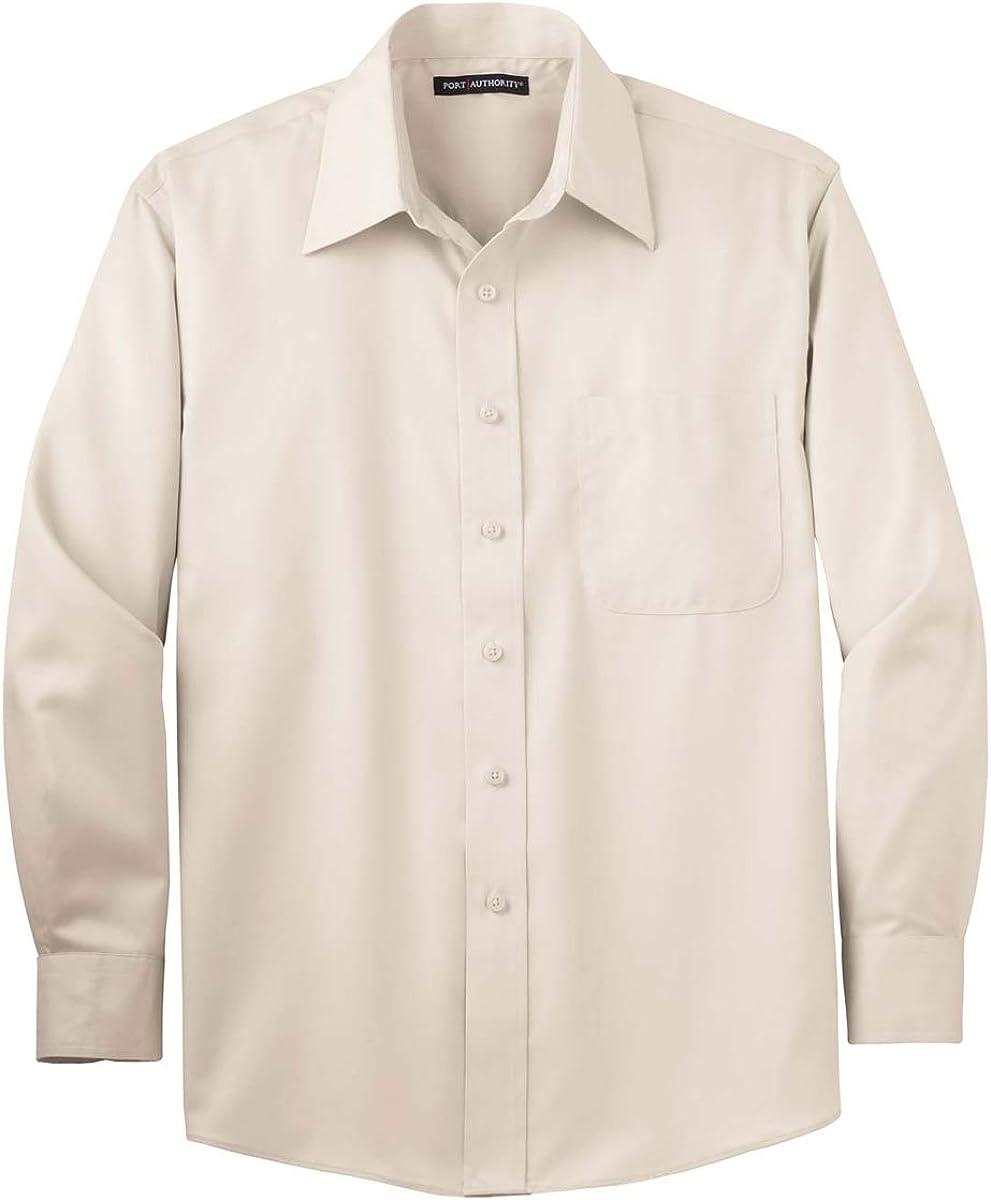 Port Authority Long Sleeve NonIron Twill Shirt (S638)