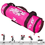 ONEX Ladies Power Sandbag Weight Lifting Pink Boxing Training Handles Exercise Running Workout MMA Fitness Sand Bag (Pink, 10kg)