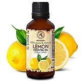 Zitronenöl 50ml - Italien - 100% Naturreines Ätherisches - Zitronen Öl für Guten Schlaf -...