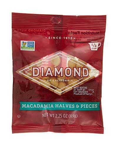 Diamond Nuts Macadamias, Chopped, 2.25 oz