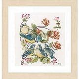 Unbekannt Lanarte Juego de Punto de Cruz Meisen, Cruz Cruz, algodón, Multicolor, 24x 29x 0,3cm