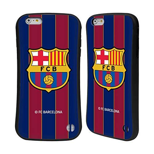 Head Case Designs Oficial FC Barcelona Casa 2020/21 Kit de Cresta Carcasa híbrida Compatible con Apple iPhone 6 Plus/iPhone 6s Plus
