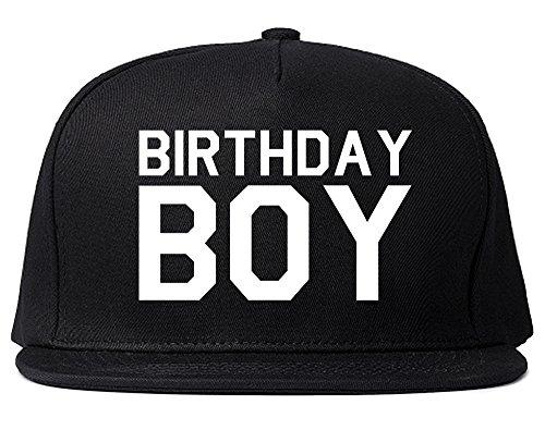 Kings Of NY Birthday Boy Snapback Hat Cap Black