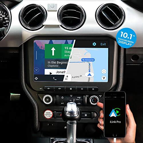 DYNAVIN Autoradio Navi für Ford Mustang VI 2015-2021; 10,1 Zoll Radio mit Carplay und Android Auto | Bluetooth | Inkl. DAB+ | USB; N7-MST2015L Pro