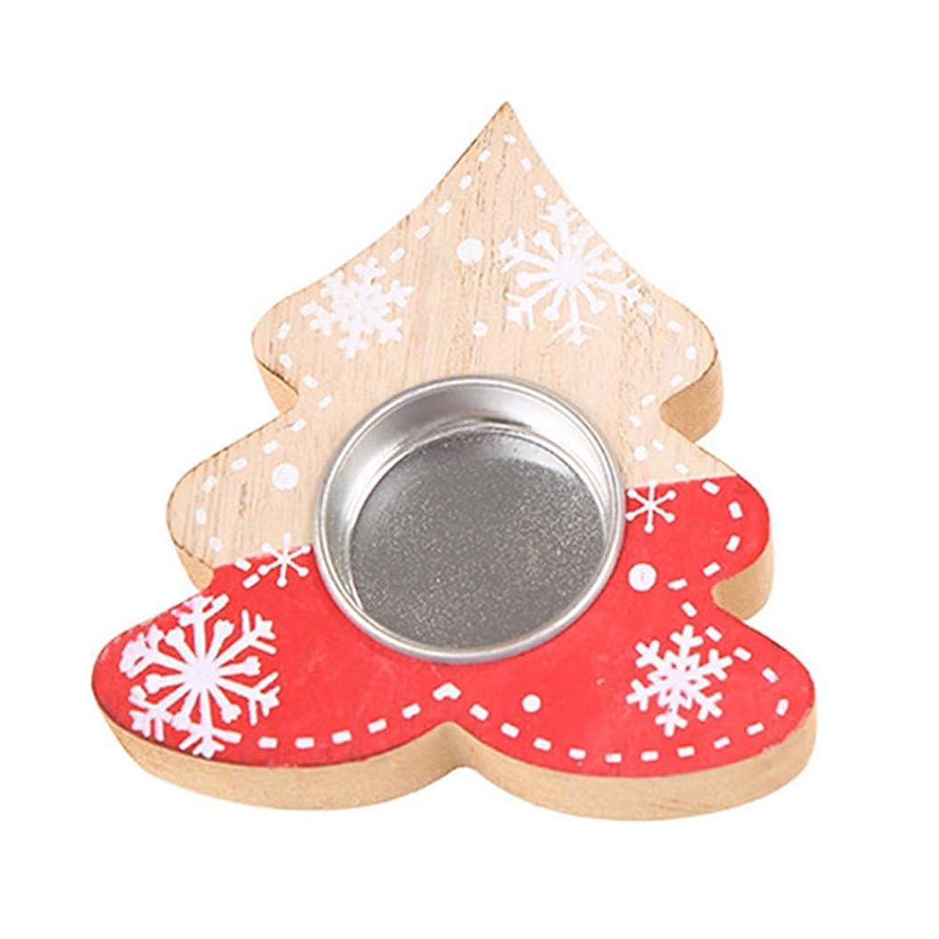 あらゆる種類のタヒチ火星クリスマス飾り クリスマス木製ツリースターハート形テーブルキャンドルホルダー結婚式パーティーの装飾{Tree #}