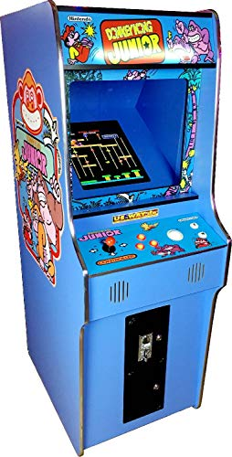 US-Way e.K. G-18 Blue Arcade Video Maschine TV Spielautomat Standgerät Cabinet Automat 412 Spiele Jamma Games Machine