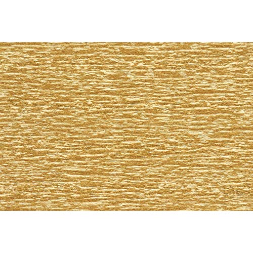 Lia Griffith Metallic Crepe Paper Roll, 10.7-Square Feet, Gold