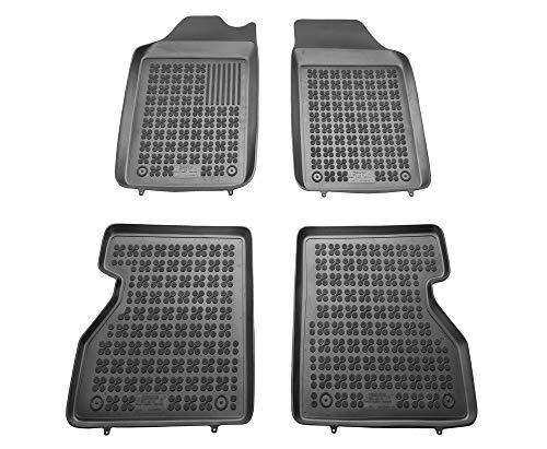 Alfombrillas de Goma Compatible con Renault KANGOO I (1998-2008) + Limpiador de Plasticos (Regalo) | Accesorios Coche Alfombrilla Suelo