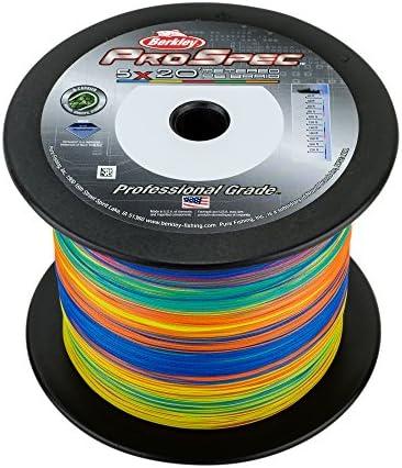 Berkley ProSpec Prem Saltwater Braid 500 Yard 30 Pound 5 Color Metered Braid product image