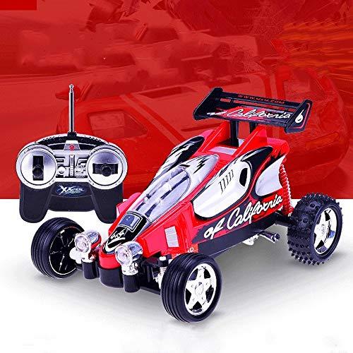 Poooc Coche de carreras de control remoto de cinco vías,  Terreno ilimitado recargable RC RC 2.4GHz Radio de alta velocidad fuera del vehículo de carretera Monster Crawlers Chariot for Boys & Girls Ind