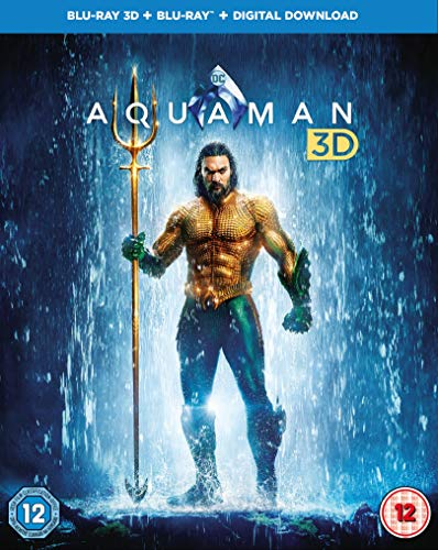 AQUAMAN (3D/S) [Blu-ray] [2018]