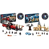 LEGO 75955HarryPotterExpresoDeHogwartsYAndén9Y3/4JugueteDeConstrucción + 75953HarryPotterSauceBoxeadorDeHogwartsJugueteDeConstrucción
