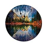 Promini Simplicity - Reloj de pared de PVC Kananaskis Countr