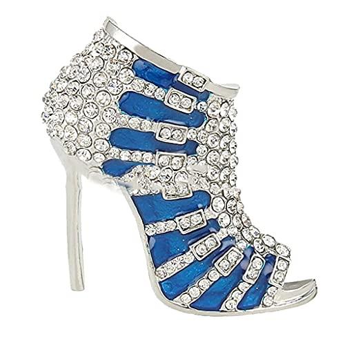 BMBN Broche, Elegante Dama Zapato de tacón Alto Diamante de imitación Aleación...