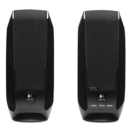 Logitech 980000028 S150 2.0 USB Digital Speakers, Black
