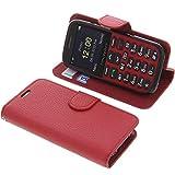 foto-kontor Tasche für Doro Primo 366 Book Style rot