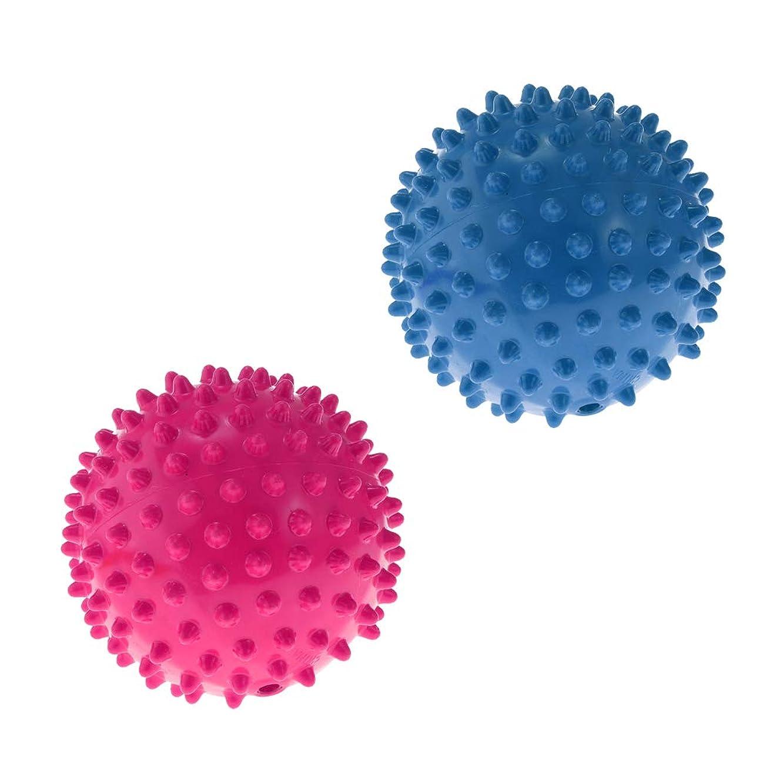 スクラップブック悪の仕えるSM SunniMix 2ピース入り ノビー 弾むボール マッサージボール パーティーゲーム 子供教育玩具 耐久性