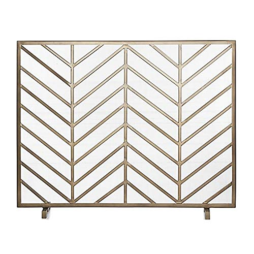 Check Out This VBARV Fireplace Screen,Free Standing Spark Guard, Fireplace Heating Home Fire Barrier...