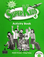SuperKids (2E) Level 4 Activity Book with CD
