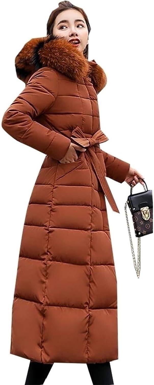 Generic Women's Classic Parka Down Coat Fur Hood Down Puffer Jacket