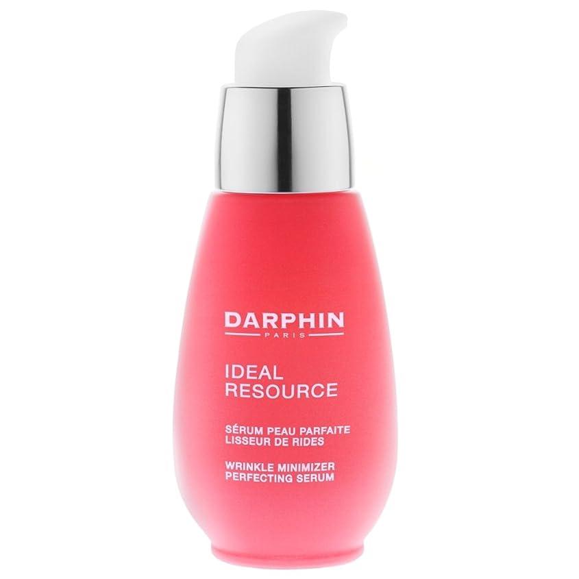 ドアミラーセメントドアミラー血清30ミリリットルを完成ダルファン理想的なリソースしわMinimiser (Darphin) - Darphin Ideal Resource Wrinkle Minimiser Perfecting Serum 30ml [並行輸入品]