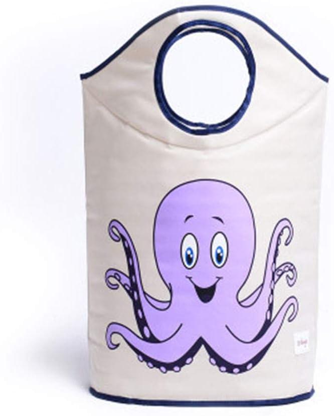 Cesto para la ropa o juguetes para habitaci/ón de los ni/ños amarillo Orang-Utan Laundry or Toy Bag