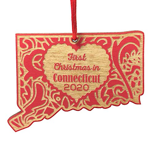 First Christmas in Connecticut 2020 Christmas Ornament