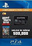 Grand Theft Auto Online - GTA V Cash Card | 500,000 GTA-Dollars | Código de descarga PS4 - Cuenta Española