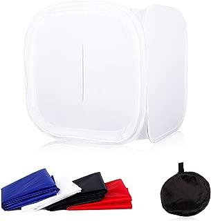 Table Top Photo Studio Mini Softbox 16x16 inch (40x40cm) Foldable Light Shooting Tent Cube Soft Box for Photography