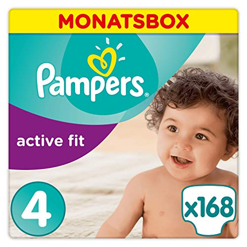 Pampers Active Fit Windeln Größe 4+