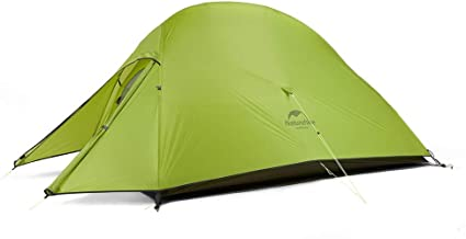 Mount Hour Naturehike Cloud-Up 2 Person Ultralight Backpacking Tent with Footprint - 20D Silicone Coated Backpack Camping Dome Tents 4 Season All Weather Free Standing Lightweight Tent