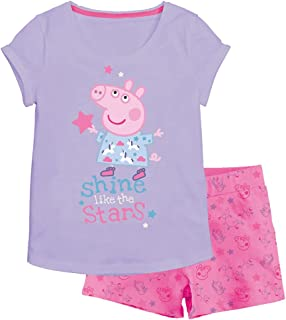 Babybogi Peppa Wurtz Sommer Set 2tlg 3tlg Kurz T-Shirt Rock Langarm Leggings Baby Mädchen Kind Peppa Pig 86 92 98 104