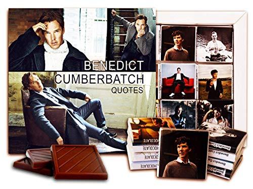 BENEDICT CUMBERBATCH Chocolate Gift Set, 5x5 in, 1 box (Sit Prime 3523)