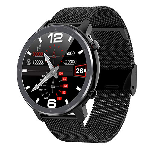 Smartwatch,Smart Watch Podómetro Deportivo Resistente Al Agua IP68,con Frecuencia Cardíaca,Presión Arterial,Oxígeno En Sangre,Sueño,Monitoreo De La Salud,Recordatorio Información,D