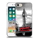 Head Hülle Designs Big Ben Tower of London Schönsten Orte Der Welt Set 2 Soft Gel Handyhülle Hülle Huelle kompatibel mit Apple iPhone 7 / iPhone 8 / iPhone SE 2020