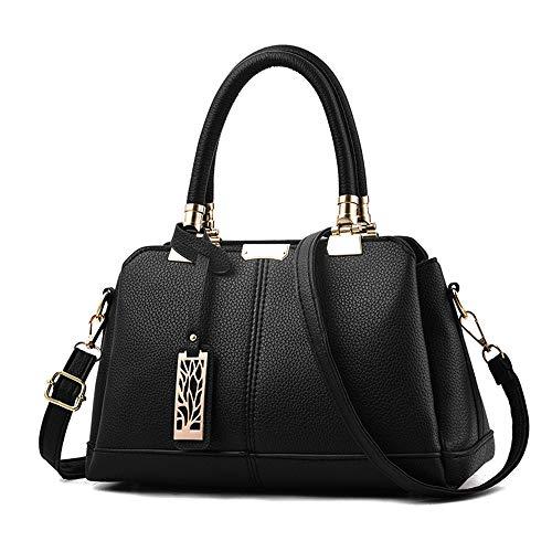 Art und Weise, die Handtaschen, Gezeiten-Beutel-weibliche Klischees wandert Süße Dame Handbags Slung Shoulder Bag Factory,Black