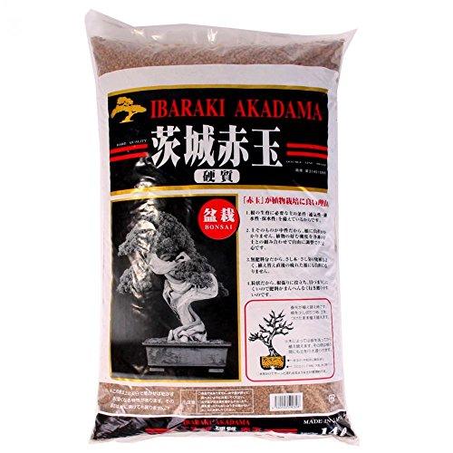 Japan Bonsai-Erde Akadama 1-5 mm Ibaraki hart 4 Liter