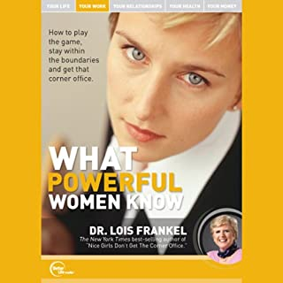 What Powerful Women Know (Live) audiobook cover art