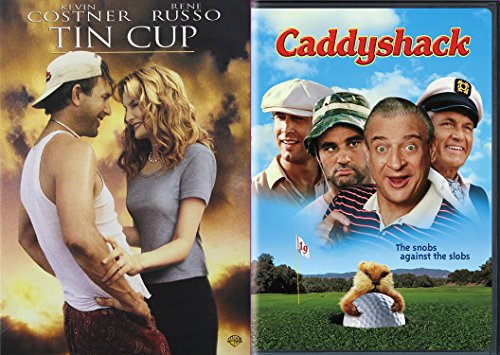 Golfing Comedy Collection - Caddyshack & Tin Cup 2-Movie Bundle
